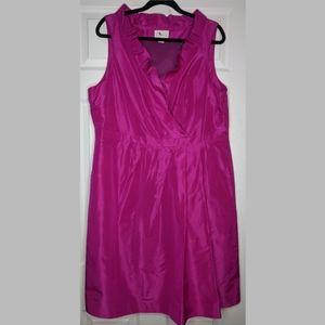 J. Crew Pink Silk Taffeta evening dress - Size 20